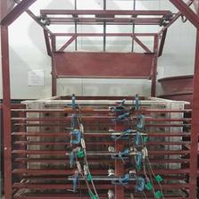 3D earth pressure testing chamber