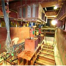 Macro stabilized earth testing chamber