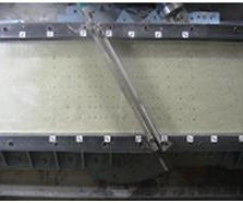 Angular direct shear test apparatus