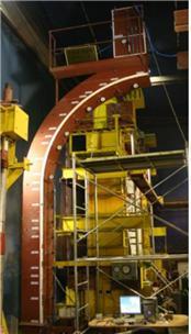 Tunnel segment testing apparatus