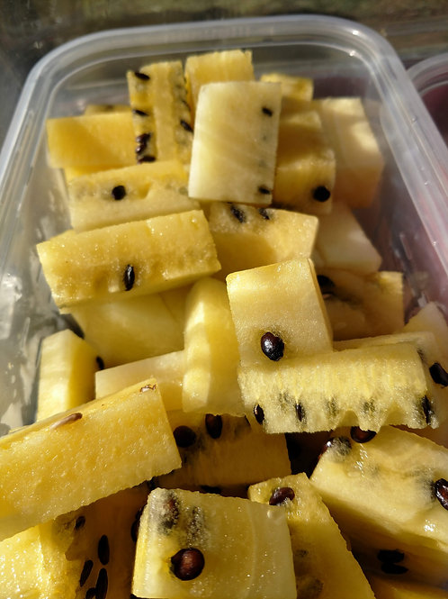 Yellow Seeded Watermelon