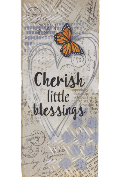 Cherish little blessings - Block Talk