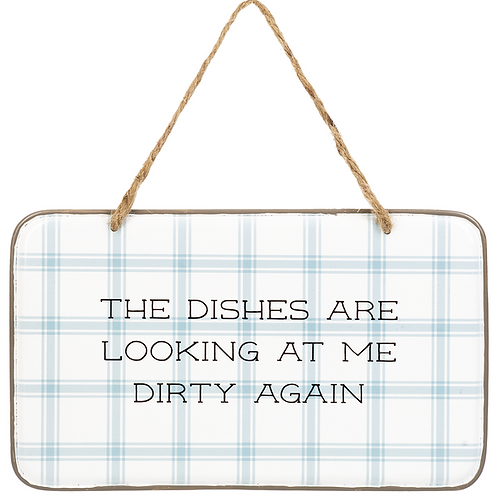 Kitchen Giggles Hanging Wall Sign