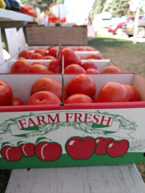 10 pound box Homegrown Tomato
