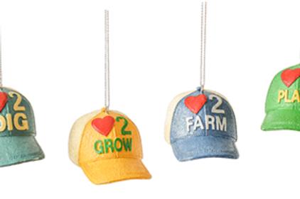 Seed Cap Ornaments