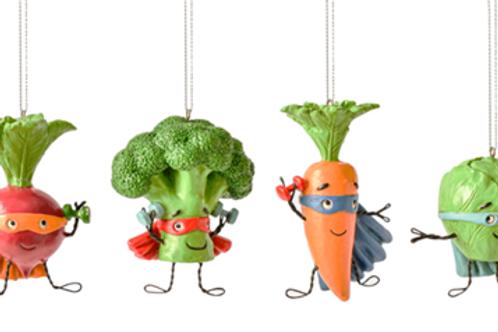 Super Food Ornaments