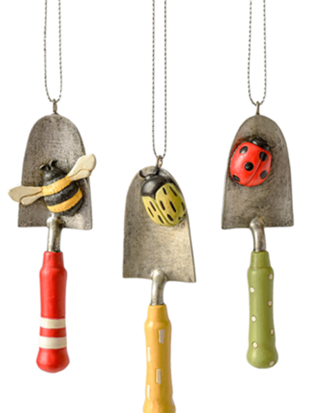 Bug Garden Tool Ornaments