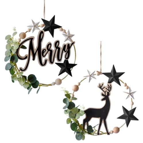 Merry or Deer Wreath