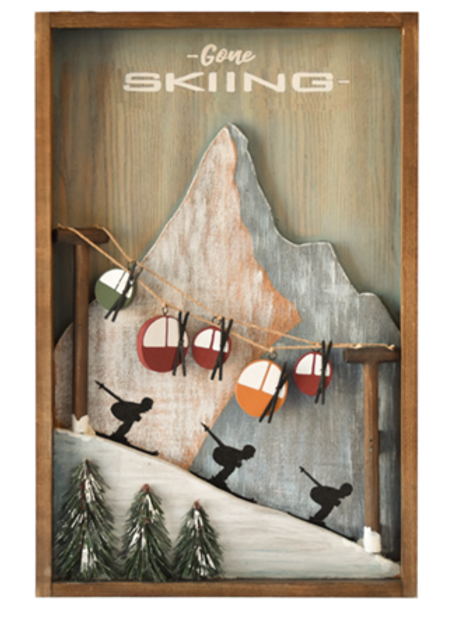 Wall Decor - Gone Skiing