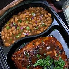 Grilled BBQ  Quarter Dinner