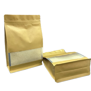 Kraft Paper Flat Bottom Bag.png