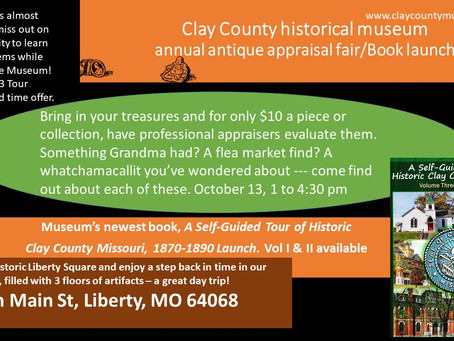 Annual Antique Appraisal and Book Launch