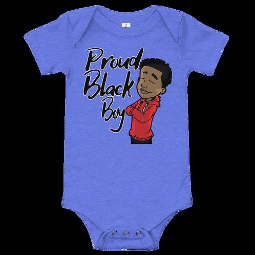 Infant Proud Black Boy Bodysuit