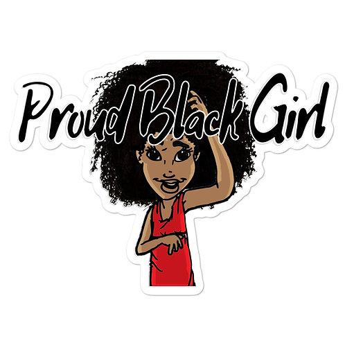 Proud Black Girl Sticker
