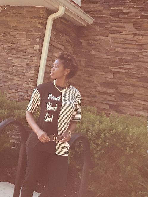 Proud Black Girl Zebra