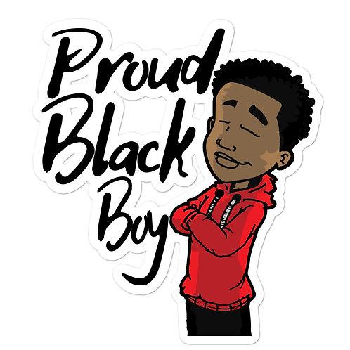 Proud Black Boy Stickers