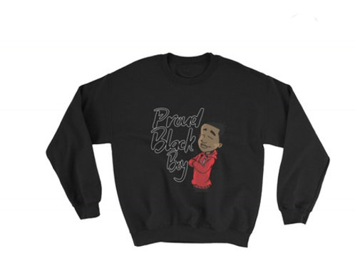 Proud Black Boy Sweatshirt