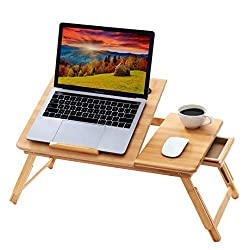 Bamboo Bed Desk