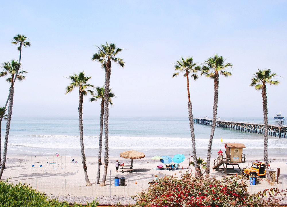 San Clemente Pier on a Summers Day | San Clemente, CA