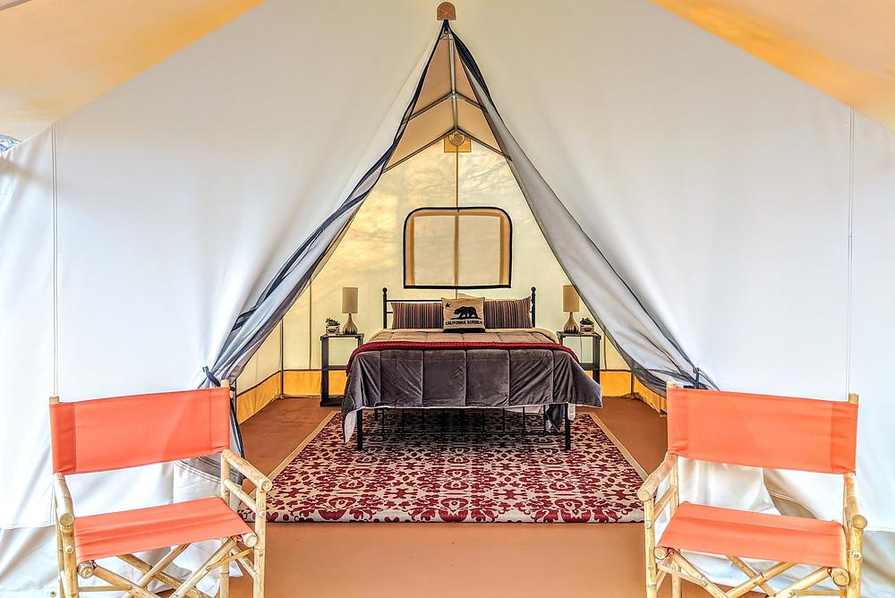 Wild Haven Sonoma Luxury Glamping Tent