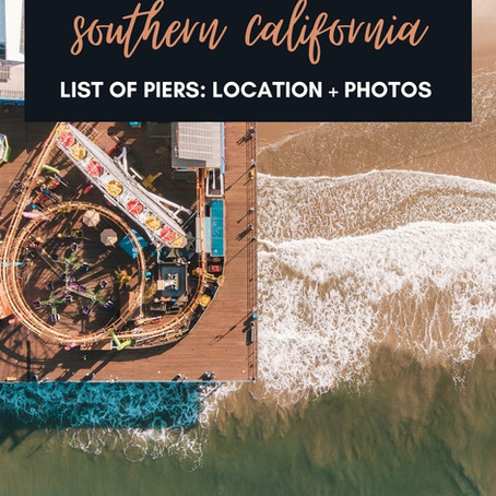 Southern California List of Piers: Locations and Photos