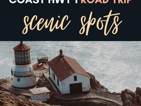 12+ Scenic Stops off HWY 1 in Northern California