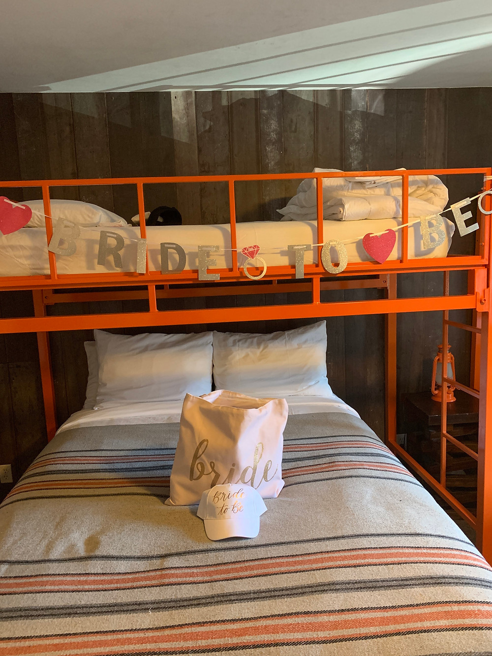 Bachelorette Decorated Room at Basecamp South Lake Tahoe