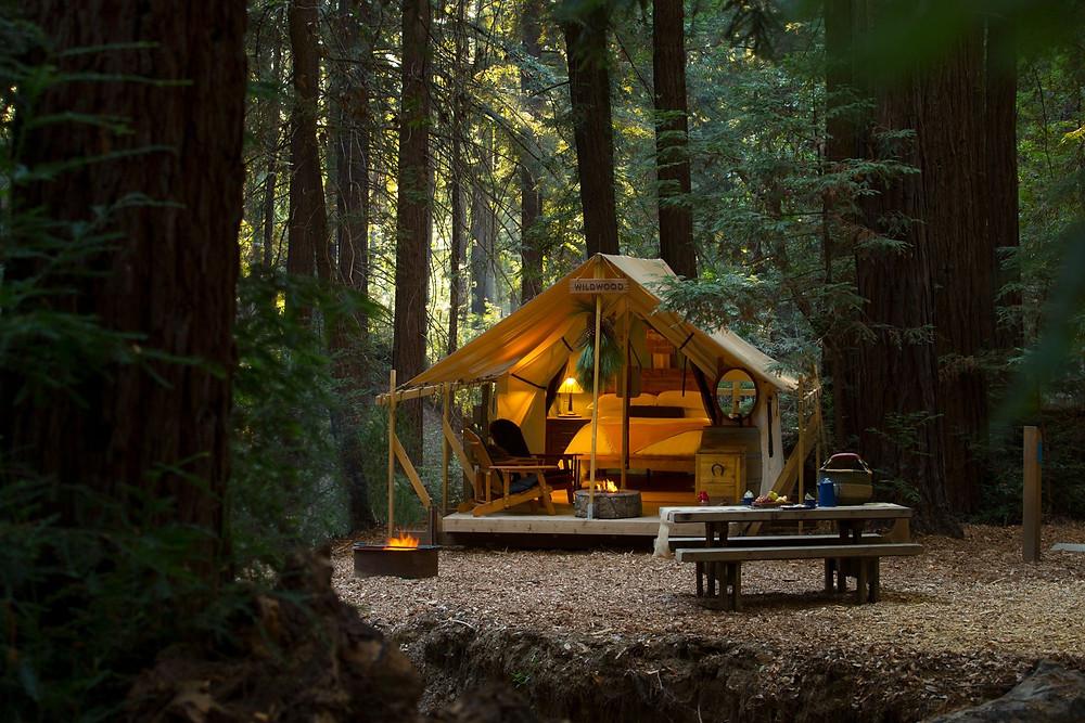 Ventana Big Sur Glamping Tents