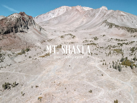 Mt.Shasta Drone Video