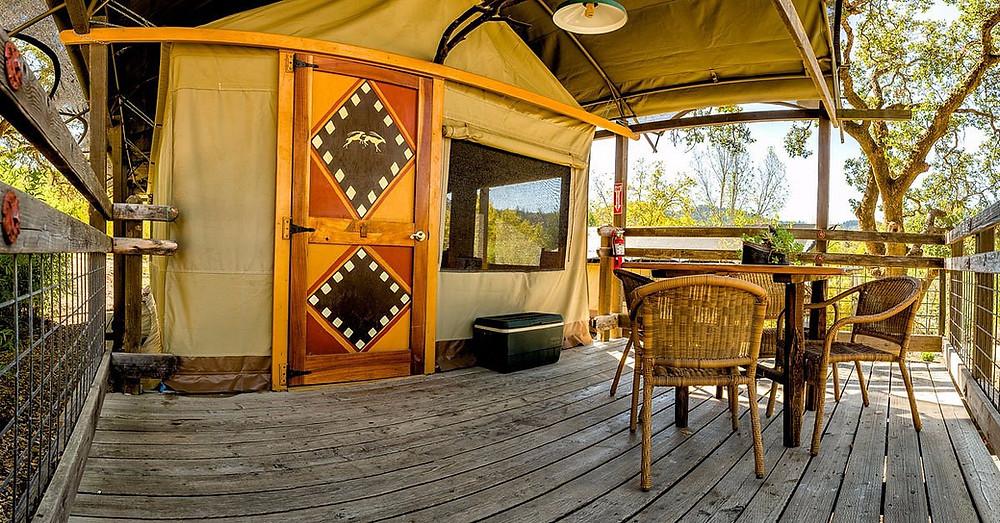 Safari West Glamping Tent Santa Rosa, California