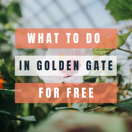Top Free Things to Do in Golden Gate Park