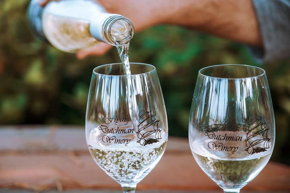 Flying Dutchman Winery in Newport, Oregon