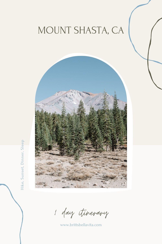 Mount Shasta Itinerary