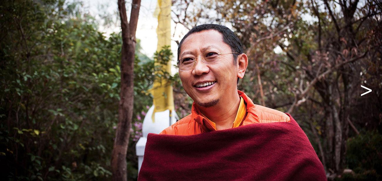 H.E. Shyalpa Tenzin Rinpoche