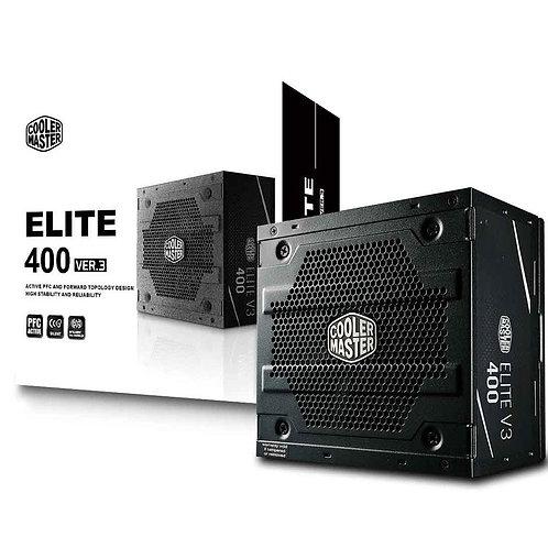FONTE COOLER MASTER ELITE V3 FULL RANGE 400W - MPW-4001-ACAAN1-WO