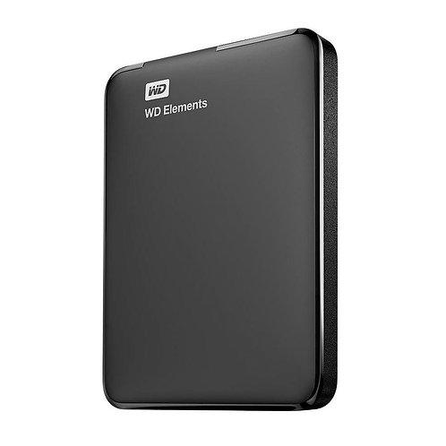 HD WD EXTERNO PORTÁTIL ELEMENTS USB 3.0 2TB WDBU6Y0020BBK