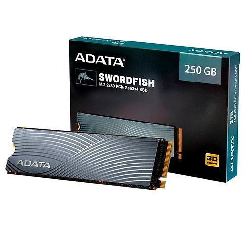 SSD ADATA SWORDFISH, 250GB, M.2 NVME, ASWORDFISH-250G-C