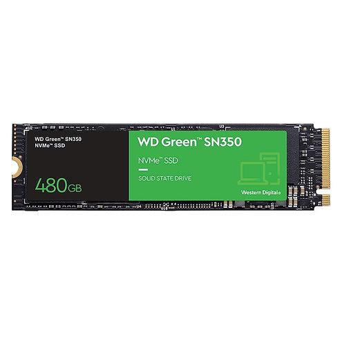SSD WD GREEN PC SN350 480GB, PCIE, NVME-WDS480G2G0C