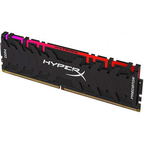 MEMÓRIA DDR4 KINGSTON HYPERX PREDATOR RGB, 8GB 3000MHZ  HX430C15PB3A/8