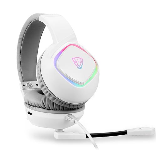 HEADSET MOTOSPEED G750 BRANCO 7.1 RGB USB