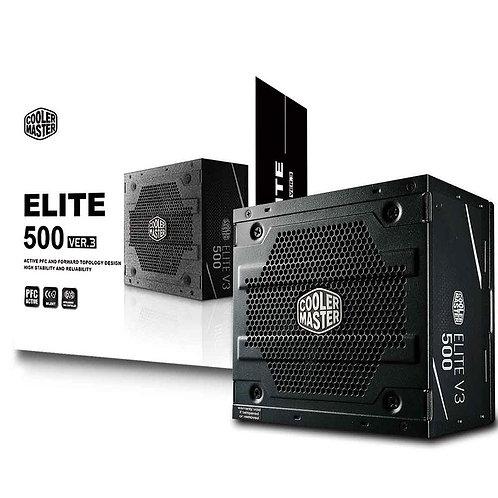 FONTE COOLER MASTER ELITE V3 FULL RANGE 500W - MPW-5001-ACAAN1-WO