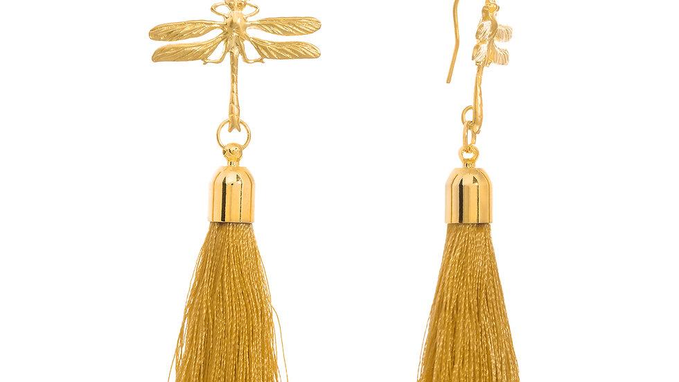 Dragonfly Tassel gold