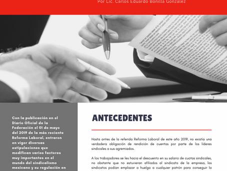 Boletín Informativo Derecho Colectivo