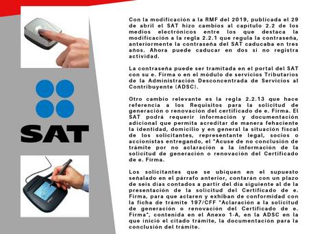 Boletín Informativo: Resolución miscelánea fiscal de los medios electrónicos.