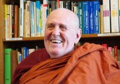 DEPOSIT for Online Zoom Retreat with Bhante V Jan 15 or Feb 12 or Mar 12th