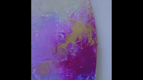 "Kimberly Abbott paints to ""Adoration"""