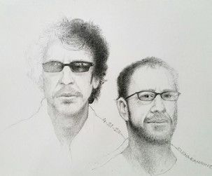 Coen Brothers, portrait / 2020