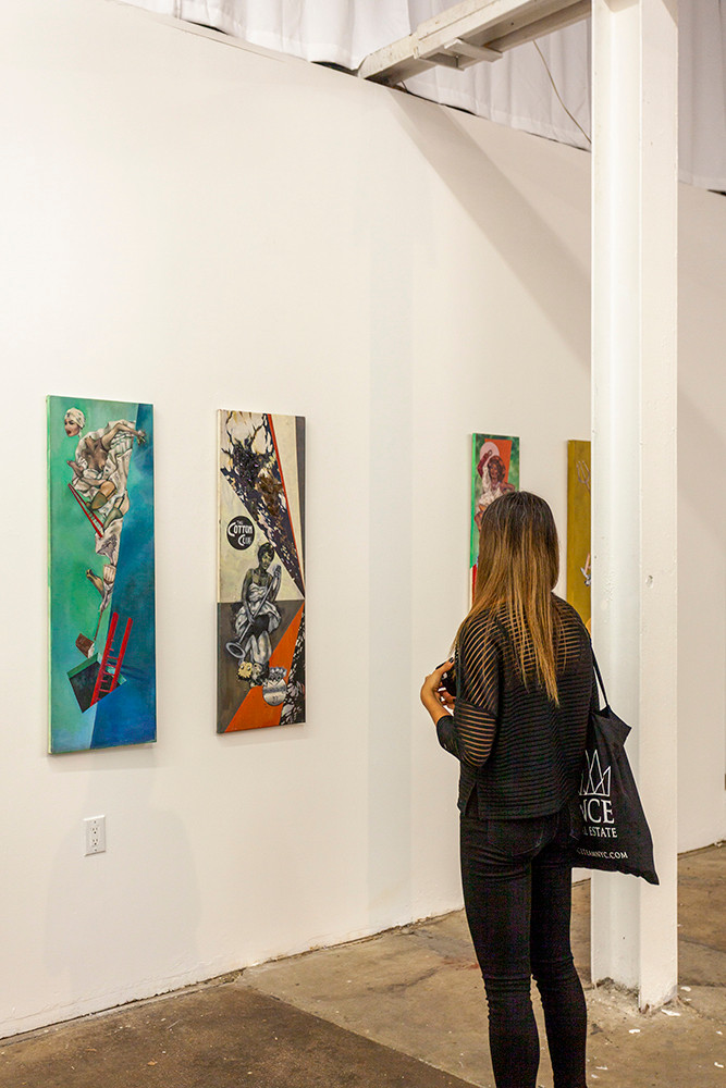 Dominick Troy, Installation shot at Culture Lab LIC