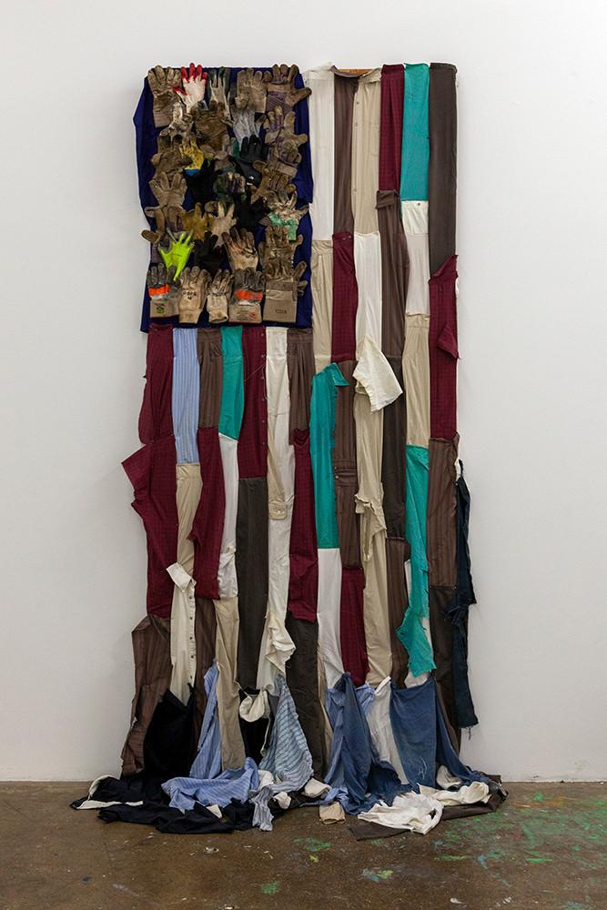 """Alberto Marcos Bursztyn, """"Pluribus Flag"""", 2020"""