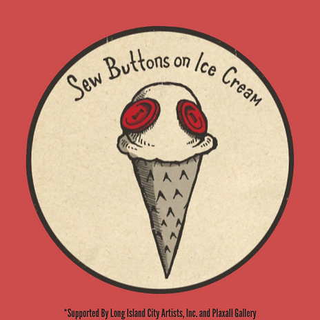 Sew Buttons on Ice Cream
